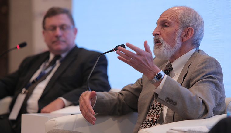 Larry Cooley speaking during his 2018 MEL Conference Panel.