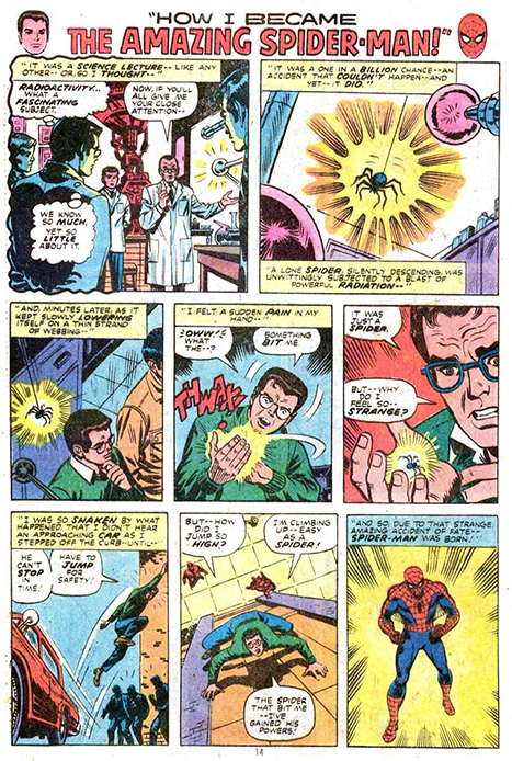 Page from Stan Lee's THE AMAZING SPIDERMAN #94