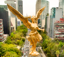 Story thumbnail image - statue of angel de independencia