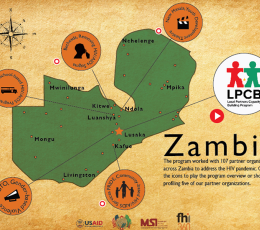 Infographic - Supporting Civil Society to Combat HIV/AIDS in Zambia